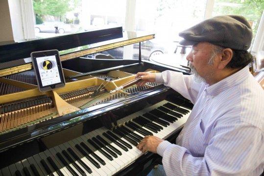 Piano tunning