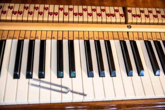 piano tuning fork